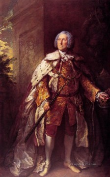 John Fourth Duke of Argyll portrait Thomas Gainsborough Oil Paintings
