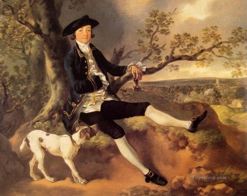John Plampin portrait Thomas Gainsborough Oil Paintings