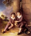 John and Henry Trueman Villebois portrait Thomas Gainsborough