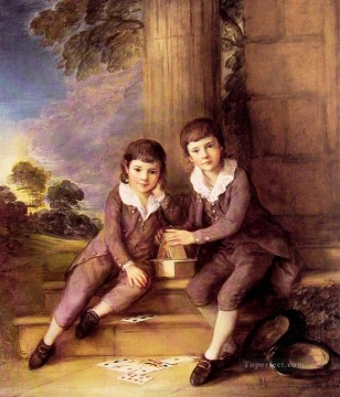 thomas - John and Henry Trueman Villebois portrait Thomas Gainsborough