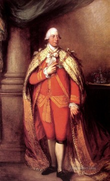 thomas - King George III portrait Thomas Gainsborough