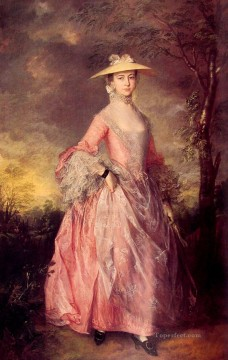 thomas - Mary Countess Howe portrait Thomas Gainsborough