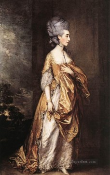 Mrs Grace D Elliott portrait Thomas Gainsborough Oil Paintings
