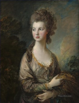Mrs Graham 1775 portrait Thomas Gainsborough Oil Paintings