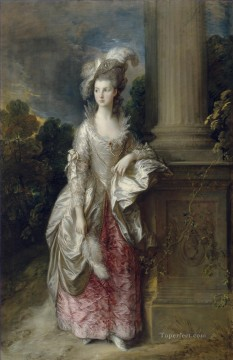 thomas - Mrs Graham 1777 portrait Thomas Gainsborough