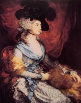 Mrs Siddons portrait Thomas Gainsborough Oil Paintings