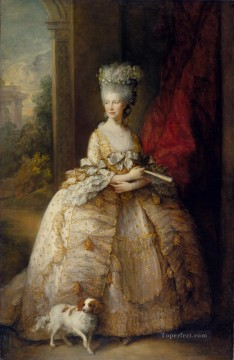 thomas - Queen Charlotte portrait Thomas Gainsborough