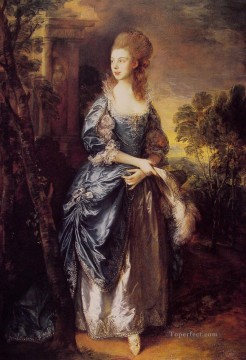 thomas - The Hon Frances Duncombe portrait Thomas Gainsborough