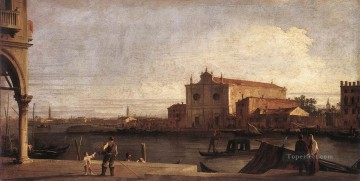 thomas - CANALETTO View Of San Giovanni Dei Battuti At Murano Thomas Gainsborough