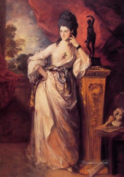 thomas - Lady Ligonier portrait Thomas Gainsborough
