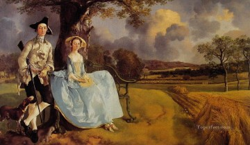 thomas - Mr and Mrs Andrews Thomas Gainsborough