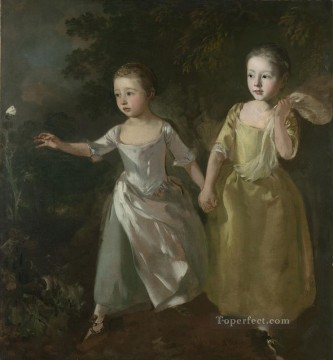 Painters Daughters Thomas Gainsborough Oil Paintings