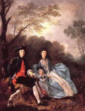 thomas - Portrait of the Artist with his Wife and Daughter Thomas Gainsborough