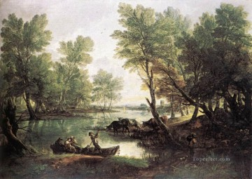 thomas - River landscape Thomas Gainsborough