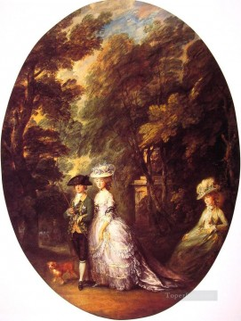 The Duke and Duchess of Cumberland Thomas Gainsborough Oil Paintings