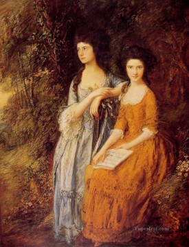 thomas - The Linley Sisters Thomas Gainsborough