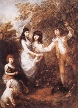 thomas - The Marsham children Thomas Gainsborough