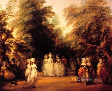 thomas - The Mall Thomas Gainsborough