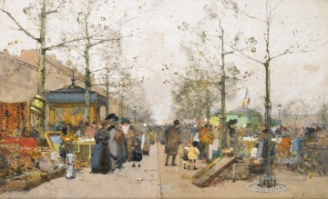 Brocante Galien Eugene Oil Paintings
