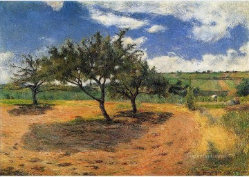 Paul Gauguin Painting - Apple Trees in Blossom Post Impressionism Primitivism Paul Gauguin