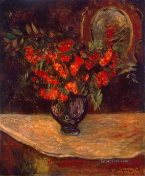 Bouquet Post Impressionism flower Paul Gauguin Oil Paintings
