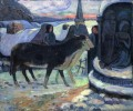 Christmas Night The Blessing of the Oxen Paul Gauguin