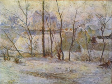 Effect of Snow Post Impressionism Primitivism Paul Gauguin Oil Paintings