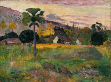 Haere Mai Paul Gauguin landscape Oil Paintings