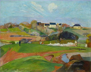 Landscape at Le Pouldu Paul Gauguin Oil Paintings