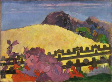 The Sacred Mountain Paul Gauguin Oil Paintings