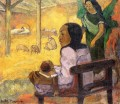 Baby The Nativity Post Impressionism Primitivism Paul Gauguin