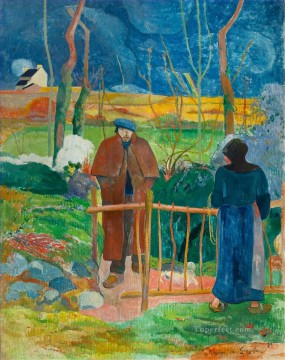 Bonjour Monsieur Gauguin Post Impressionism Primitivism Paul Gauguin Oil Paintings
