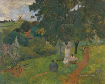 Coming and Going Martinique Paul Gauguin landscape Oil Paintings