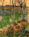 Landscape from Pont Aven Brittany Paul Gauguin