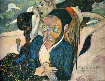 Paul Gauguin Painting - Nirvana Portrait of Meyer de Haan Post Impressionism Primitivism Paul Gauguin
