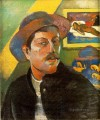Portrait de l artiste Self portraitc Post Impressionism Primitivism Paul Gauguin