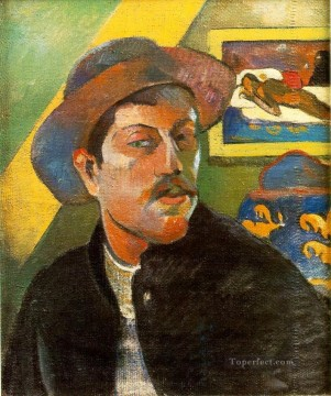 Paul Gauguin Painting - Portrait de l artiste Self portraitc Post Impressionism Primitivism Paul Gauguin
