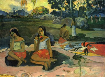 Sacred Spring Sweet Dreams Paul Gauguin Oil Paintings