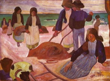 Seaweed gatherers Paul Gauguin Oil Paintings