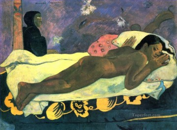 Artworks by 350 Famous Artists Painting - Spirit of the Dead Watching Post Impressionism Primitivism Paul Gauguin