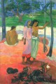 The Call Post Impressionism Primitivism Paul Gauguin