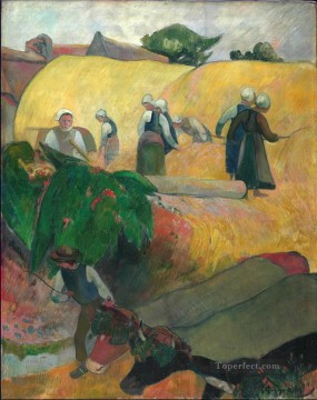 The Haystacks Paul Gauguin Oil Paintings
