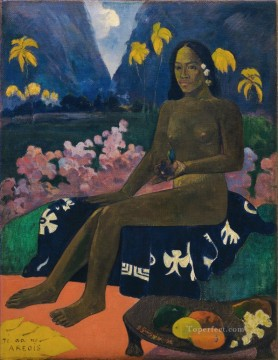 Artworks by 350 Famous Artists Painting - The Seed of the Areoi Paul Gauguin
