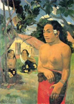 Where are you going I Paul Gauguin Oil Paintings