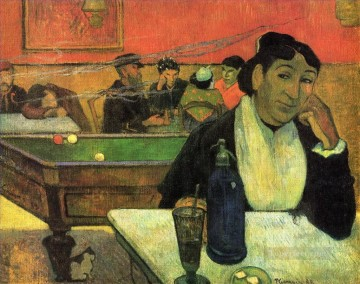 Night Art - Night Cafe at Arles Post Impressionism Primitivism Paul Gauguin