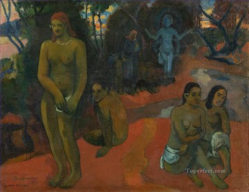 Paul Gauguin Painting - Te Pape Nave Nave Delectable Waters Post Impressionism Primitivism Paul Gauguin