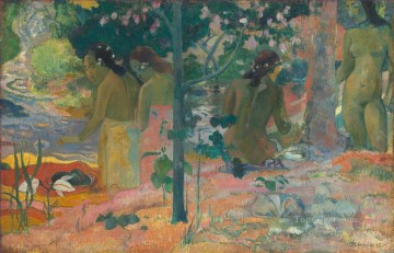 The Bathers Paul Gauguin nude Oil Paintings