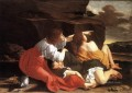 Lot And His Daughters Baroque painter Orazio Gentileschi