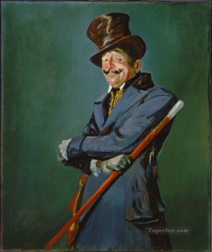 George Luks Painting - Otis Skinner as Col Philippe Bridau George luks