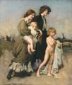 The holiday group The bathers George Washington Lambert portraiture